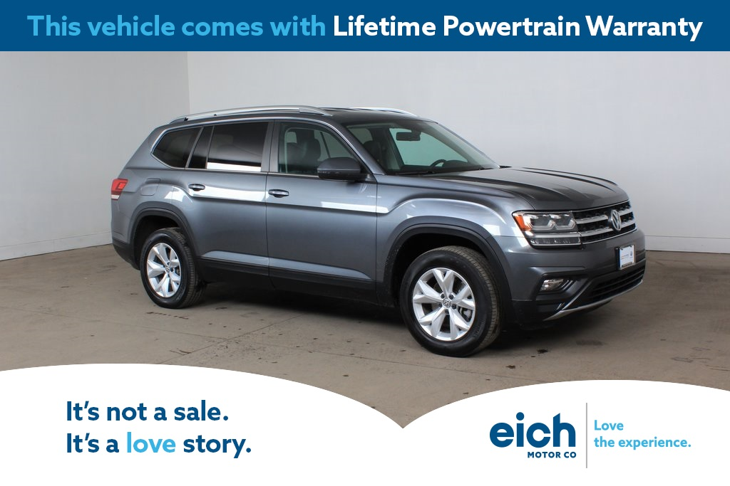 Certified Pre-Owned 2018 Volkswagen Atlas SE