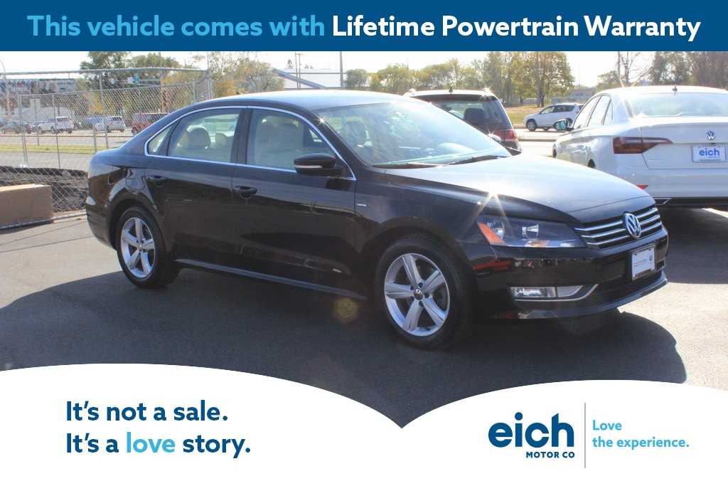 Certified Pre-Owned 2015 Volkswagen Passat 1.8T Limited Edition