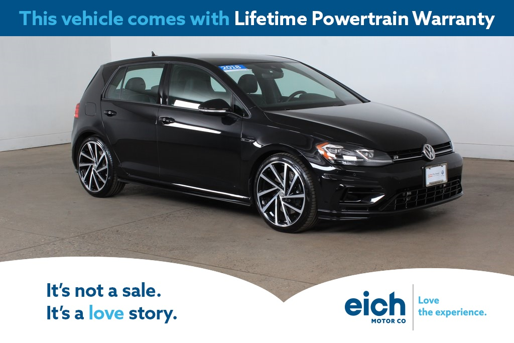 Certified Pre-Owned 2018 Volkswagen Golf R DCC & Navigation 4Motion
