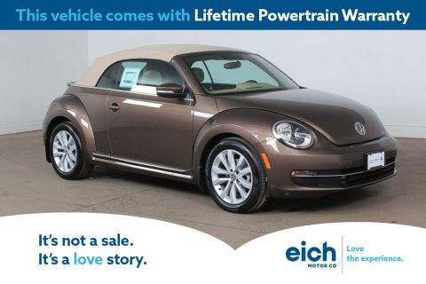 Certified Pre-Owned 2015 Volkswagen Beetle 2.0 TDI