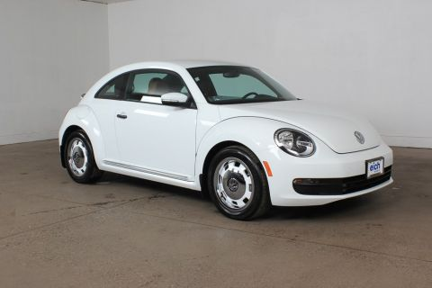 Certified Pre-Owned 2015 Volkswagen Beetle 1.8T Classic