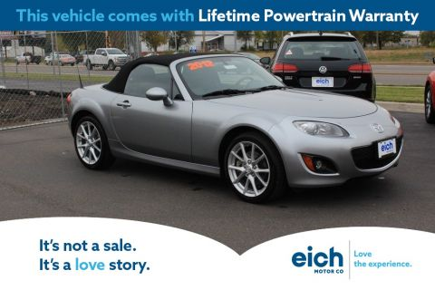 Pre-Owned 2012 Mazda Miata Grand Touring 6-Speed Manual